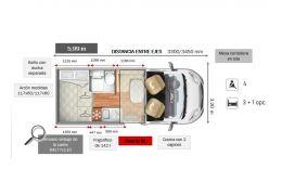 Autocaravana Perfilada ROLLER TEAM Kronos 291 TL Nueva en Venta