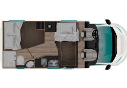 Autocaravana Perfilada ITINEO PF600 Modelo 2021 Nueva en Venta
