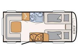 Caravana DETHLEFFS Nomad 470 ER modelo 2016 de Ocasión