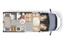 Furgoneta Cámper DREAMER Family Van Select Modelo 2021 Nueva en Venta