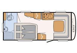 Caravana DETHLEFFS Nomad 540 RFT modelo 2016 de Ocasión