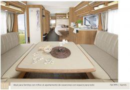 Caravana DETHLEFFS Nomad 560 FMK modelo 2016 de Ocasión