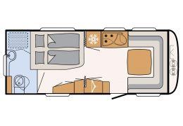 Caravana DETHLEFFS Nomad 560 RFT modelo 2016 de Ocasión