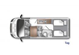 WESTFALIA Amundsen 600 E modelo 2022 · Furgoneta Cámper