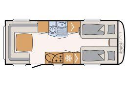 Caravana DETHLEFFS Nomad 600 ER modelo 2016 de Ocasión