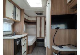 Caravana HOBBY 460 DL LUXE de Ocasión