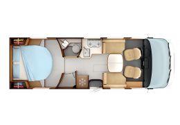 Autocaravana Integral RAPIDO 896F Nueva en Venta