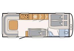 Caravana DETHLEFFS Nomad 670 FKR modelo 2016 de Ocasión
