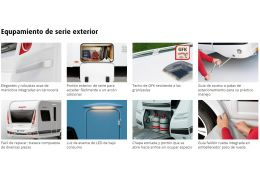Caravana DETHLEFFS Nomad 760 DR modelo 2016 de Ocasión