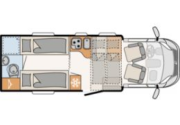 DETHLEFFS Trend T 7017 EB modelo 2019 · Autocaravana Perfilada
