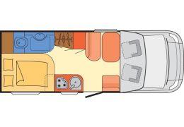 Autocaravana Perfilada DETHLEFFS Advantage T6601 modelo 2017 de Ocasión
