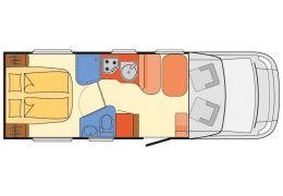 Autocaravana Perfilada DETHLEFFS Advantage T6651 modelo 2017 de Ocasión