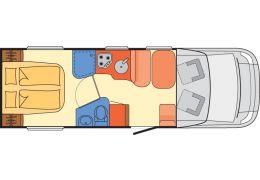 Autocaravana Perfilada DETHLEFFS Advantage T7051 modelo 2018 Nueva en Venta