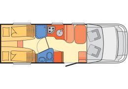 Autocaravana Perfilada DETHLEFFS Advantage T7051 EB modelo 2018 Nueva en Venta