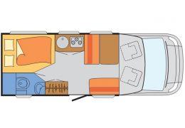 Autocaravana Perfilada SUNLIGHT T-63 modelo 2016 de Ocasión