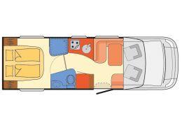 Autocaravana Perfilada DETHLEFFS Esprit T7150-2 DBM modelo 2019 Nueva en Venta