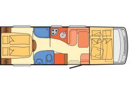 Autocaravana Integral DETHLEFFS Esprit I 7150-2 DBT modelo 2019 de Ocasión