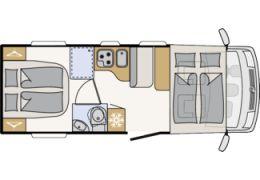 Autocaravana Integral DETHLEFFS Trend I 6757 modelo 2018 de Ocasión