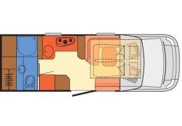 Autocaravana Perfilada DETHLEFFS 4-travel T 6966-4 modelo 2017 Nueva en Venta