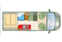 Furgoneta Cámper ROADCAR R600 modelo 2017 de Ocasión