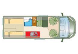 Furgoneta Cámper ROADCAR R 640 de Ocasión