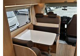 Autocaravana Capuchina SUNLIGHT A-70 con amplio garaje de Ocasión