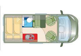 Furgoneta Cámper ROADCAR R540 modelo 2017 de Ocasión