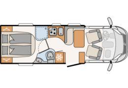 Autocaravana Perfilada DETHLEFFS Globebus T 7 en Alquiler