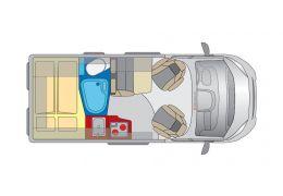 Furgoneta Cámper GLOBECAR Roadscout R versión Elegance de Ocasión