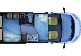 Furgoneta Cámper RAPIDO Van V43 Modelo 2018 de Ocasión