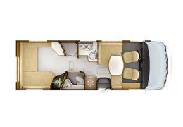 Autocaravana Integral RAPIDO 8094 dF Nueva en Venta
