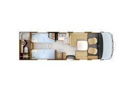 Autocaravana Integral RAPIDO I-165 Modelo 2018 de Ocasión