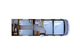 Autocaravana Integral RAPIDO I-165 Modelo 2018 Nueva en Venta