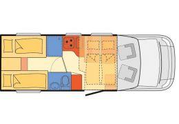 Autocaravana Perfilada DETHLEFFS Trend T 7057 EB Nueva en Venta