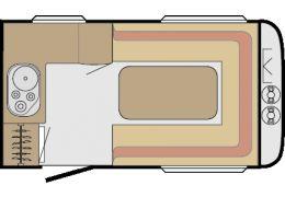 Caravana SUNLIGHT C 34 D njoy modelo 2016 de Ocasión