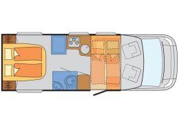 Autocaravana Perfilada SUNLIGHT T-69 10 year limited de Ocasión