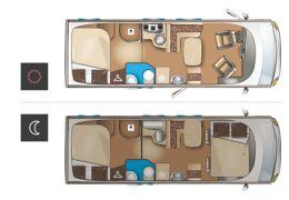 Autocaravana Integral ITINEO TB 700 modelo 2016 de Ocasión
