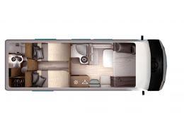 Autocaravana Integral ITINEO DB 740 modelo 2018 de Ocasión