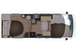 Autocaravana Integral ITINEO MC 700 Modelo 2021 Nueva en Venta