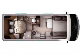 Autocaravana Integral ITINEO MB700 modelo 2019 de Ocasión
