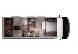 Autocaravana Integral ITINEO JB700 modelo 2019 de Ocasión
