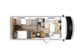 Autocaravana Integral ITINEO SLB 700 modelo 2020 Nueva en Venta
