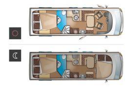 Autocaravana Integral ITINEO CB 740 modelo 2016 Nueva en Venta