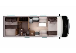 Autocaravana Integral ITINEO TC 740 modelo 2019 de Ocasión
