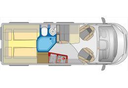 Furgoneta Cámper GLOBECAR Campscout Revolution modelo 2016 de Ocasión