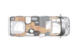 Autocaravana Integral LMC ExpIorer Comfort I 695 de Ocasión