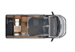 Furgoneta Cámper GLOBECAR Vario 545-H line modelo 2016 de Ocasión