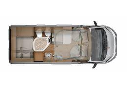 Furgoneta Cámper GLOBECAR Globescout Vario H line modelo 2016 de Ocasión