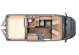Furgoneta Cámper SUNLIGHT Cliff 601 XV Modelo 2020 Nueva en Venta