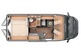 Furgoneta Cámper SUNLIGHT Cliff 600 XV Modelo 2020 Nueva en Venta